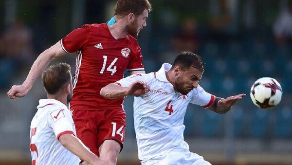 Матч между сборными Грузии и Мальты по футболу - Sputnik Грузия