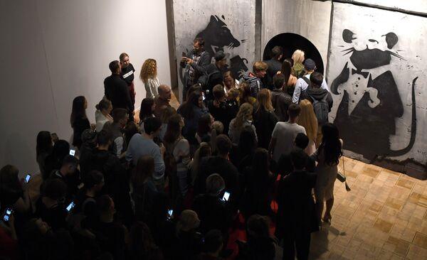 Выставка собрана из коллекции галереи Lilley Fine Art, из частных собраний коллекционеров всего мира и нескольких музеев современного искусства - Sputnik Грузия