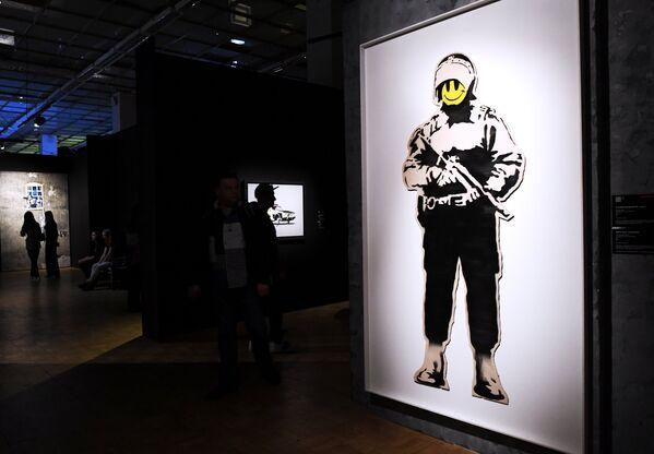 Выставка Бэнкси будет открыта в Москве для посетителей до начала сентября - Sputnik Грузия