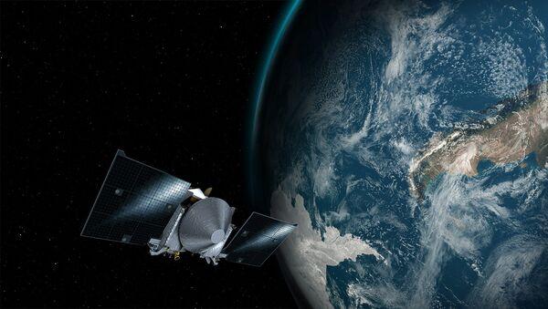 Космический аппарат OSIRIS-REx и Земля - Sputnik Грузия