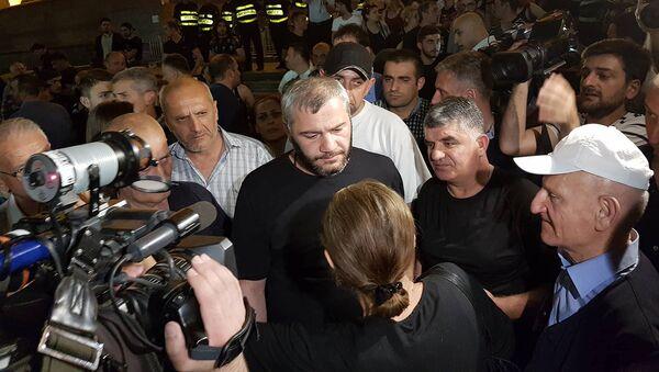 Отец убитого в Тбилиси школьника Давида Саралидзе - Заза Саралидзе - Sputnik Грузия