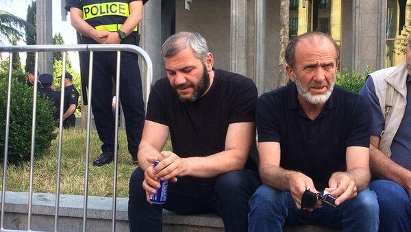Заза Саралидзе и Малхаз Мачаликашвили - Sputnik Грузия