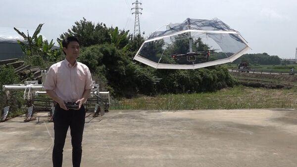 Зонтик-дрон придумали в Китае - Sputnik Грузия