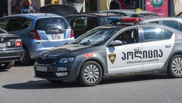 პოლიციის ავტომობილი - Sputnik საქართველო