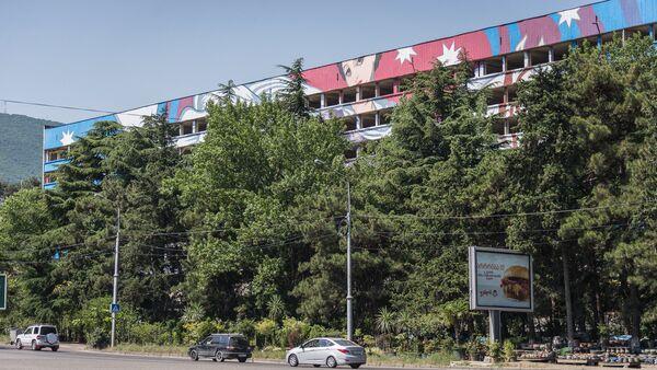 """""""ზაკვოს"""" ყოფილი შენობა ვაკე-საბურთალოს გზაზე - Sputnik საქართველო"""