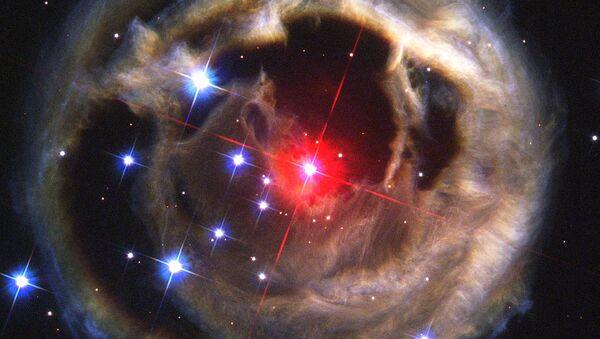 აფეთქებული ვარსკვლავი კოსმოსში - Sputnik საქართველო
