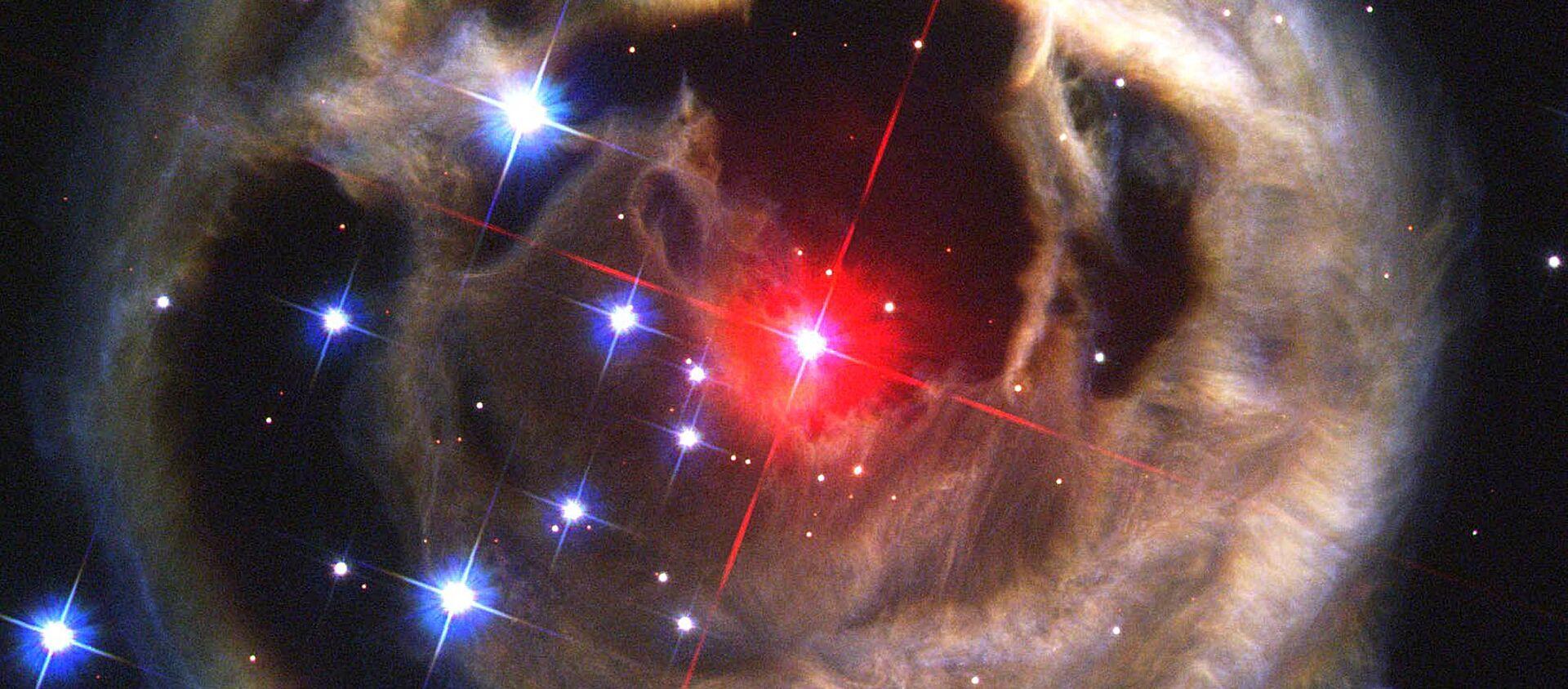 აფეთქებული ვარსკვლავი კოსმოსში - Sputnik საქართველო, 1920, 24.07.2018