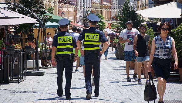 პოლიცია ქალაქის ქუჩებში - Sputnik საქართველო