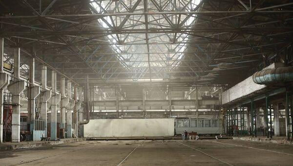 Павильон старого тбилисского электровагоноремонтного завода - Sputnik Грузия