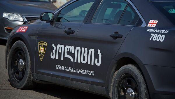 Полицейская машина в Грузии - Sputnik Грузия