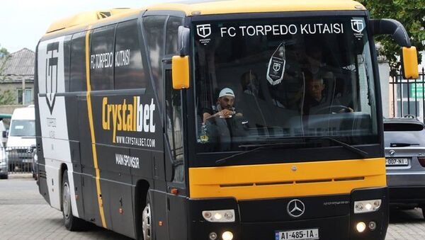 Автобус футбольного клуба Торпедо Кутаиси - Sputnik Грузия