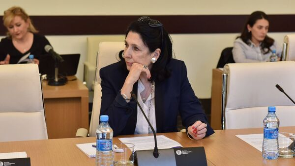 Экс-министр Саломе Зурабишвили - Sputnik Грузия