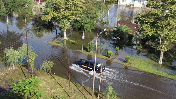 Наводнение в городе Поти - Sputnik Грузия