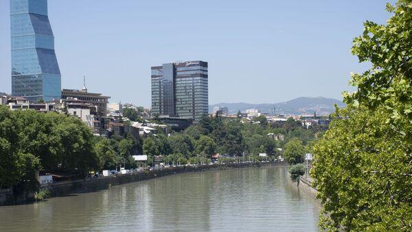 вид на столицу Грузии - Sputnik Грузия