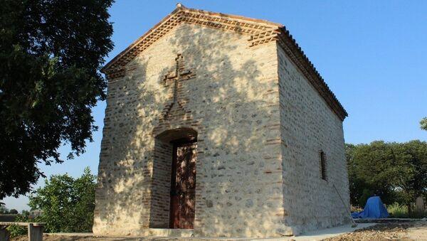 Церкви Пресвятой Цлукаани в селе Озаани Кахети - Sputnik Грузия