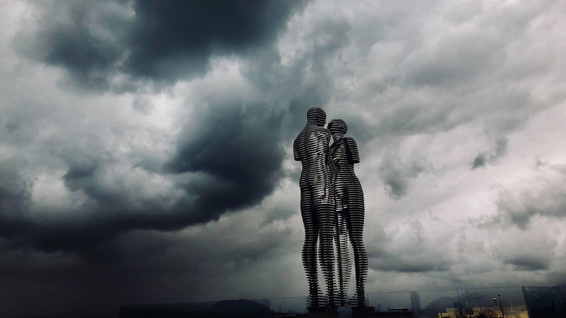 წვიმიანი ამინდი ბათუმში - Sputnik საქართველო, 1920, 13.09.2021