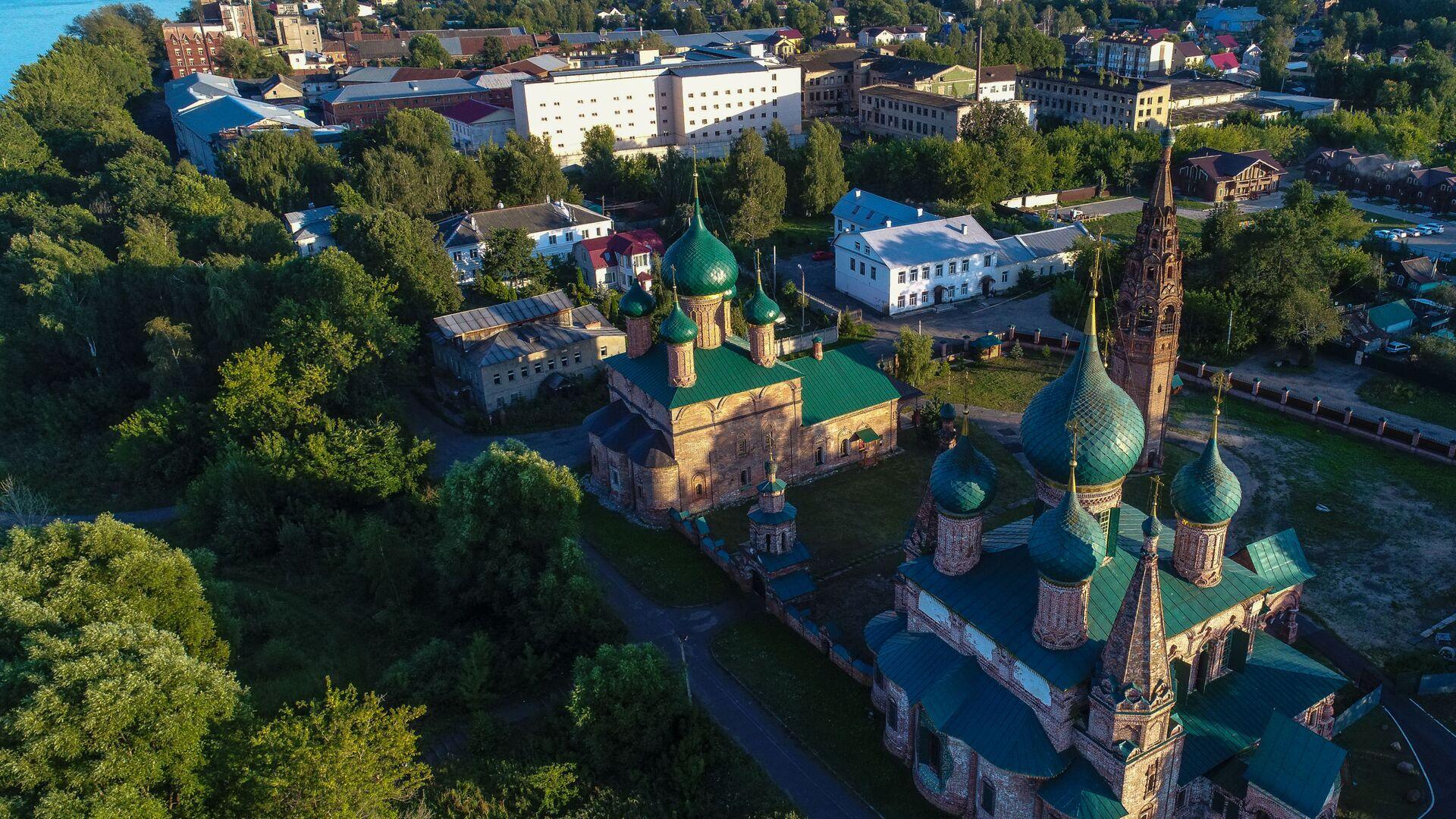 Церковь Усекновения главы Иоанна Предтечи в Ярославле - Sputnik Грузия, 1920, 10.09.2021