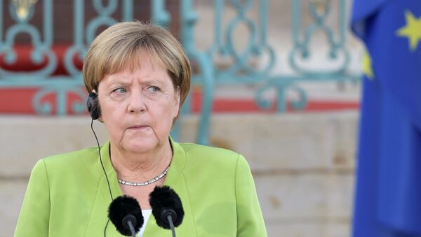 Федеральный канцлер ФРГ Ангела Меркель - Sputnik Грузия