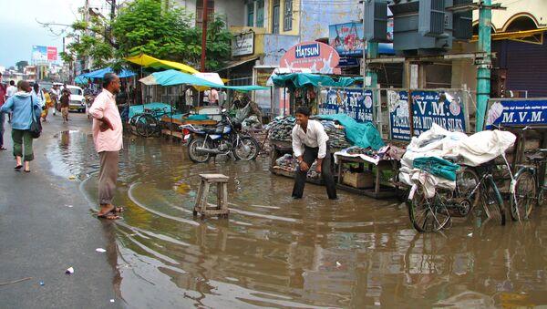 Наводнение в Индии. Архивное фото - Sputnik Грузия