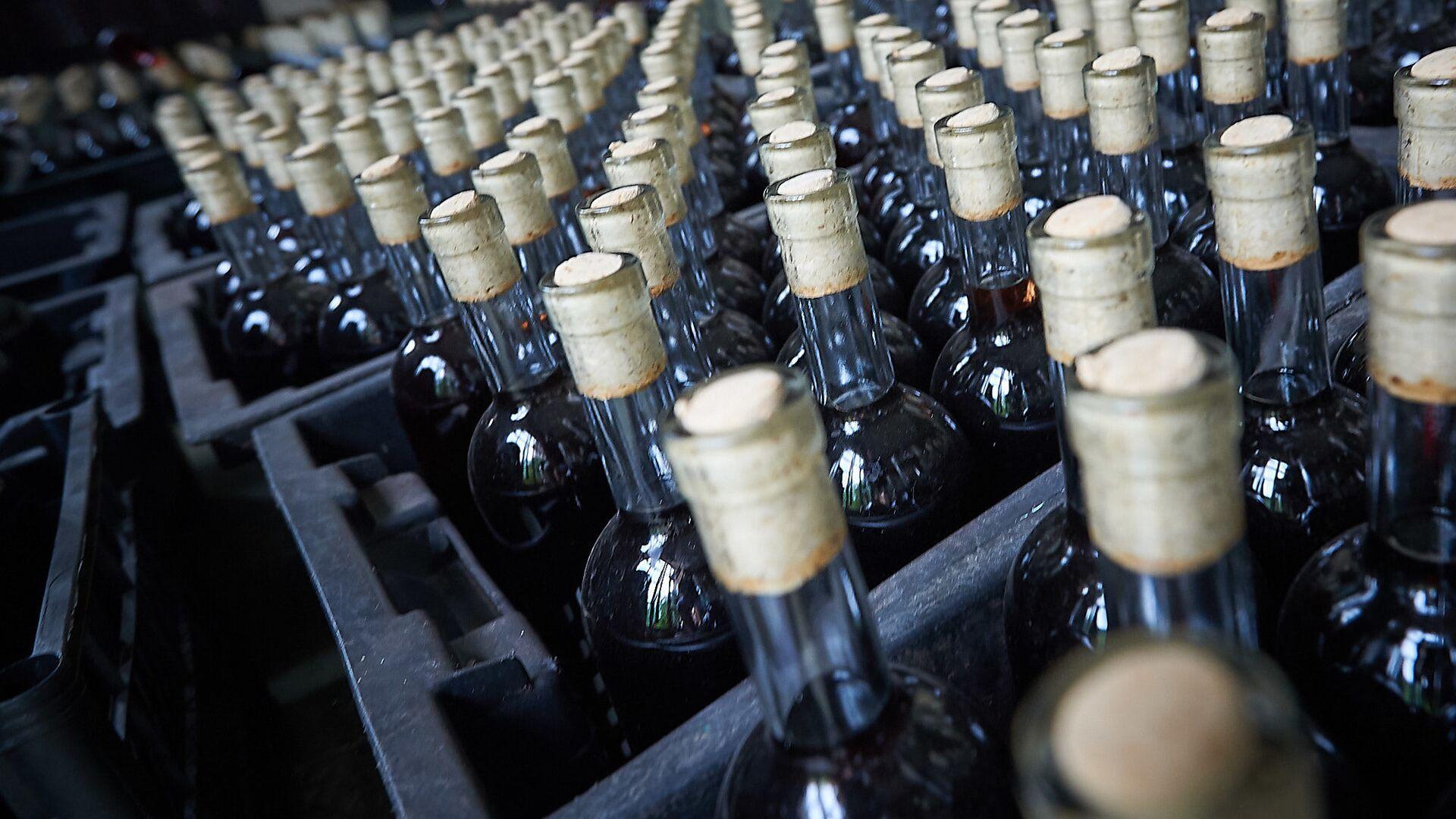 Грузинское вино которое отправят на экспорт - Sputnik Грузия, 1920, 09.06.2021
