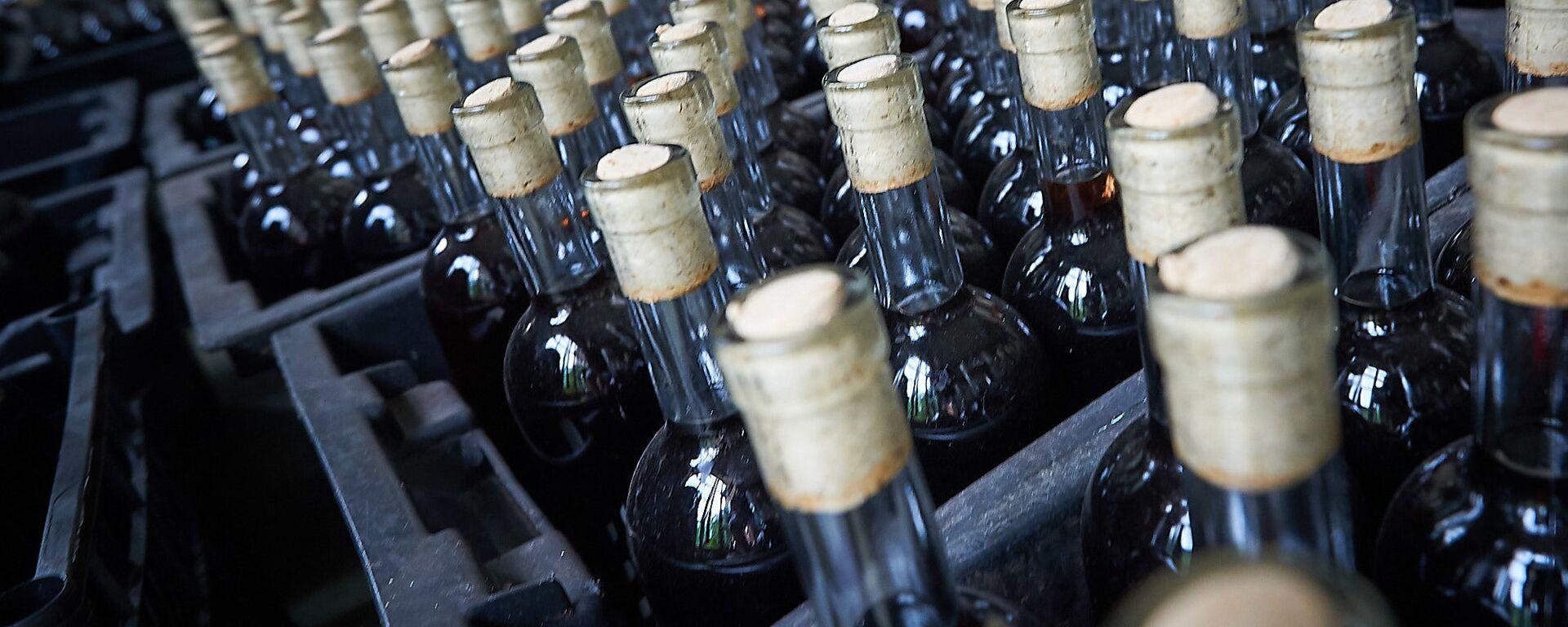 Грузинское вино которое отправят на экспорт - Sputnik Грузия, 1920, 13.08.2021