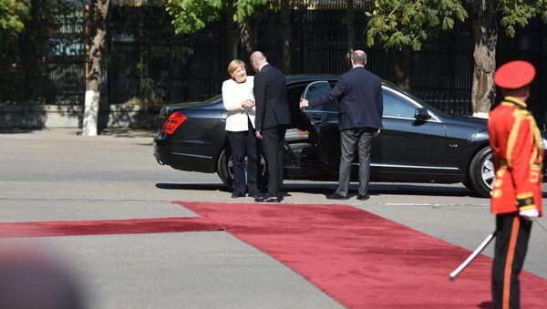 Канцлер Германии Ангела Меркель прибыла в столицу Грузии - Sputnik Грузия