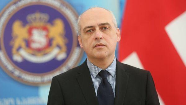 საგარეო საქმეთა მინისტრი დავით ზალკალიანი - Sputnik საქართველო