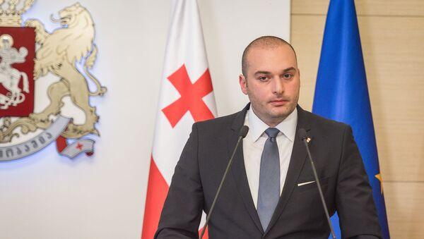 Премьер-министр Грузии Мамука Бахтадзе - Sputnik Грузия