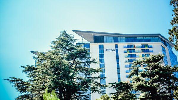 Гостиница Хилтон в курортном городе Батуми - Sputnik Грузия