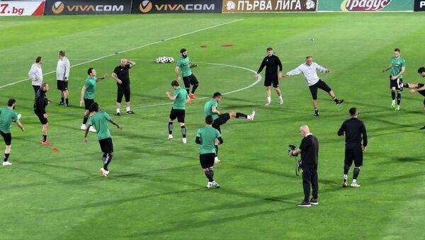 Тренировка Торпедо Кутаиси в Болгарии перед матчем Лиги Европы - Sputnik Грузия