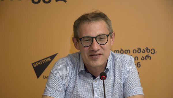 Исполнительный директор центра Урал-Евразия Константин Погорельский - Sputnik Грузия