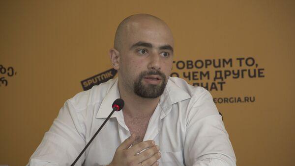 Политолог Арчил Сихарулидзе - Sputnik Грузия