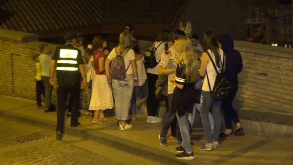 Подростки из Беларуси в Тбилиси по программе обмена МВД - Sputnik Грузия