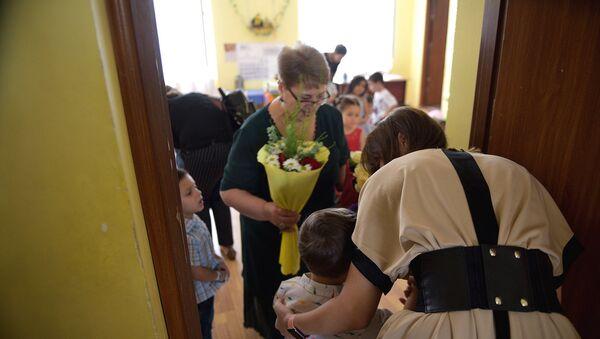 Первый день в детском саду - Sputnik Грузия