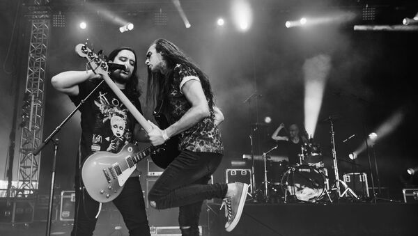 Рок-группа Stoned Jesus - Sputnik Грузия