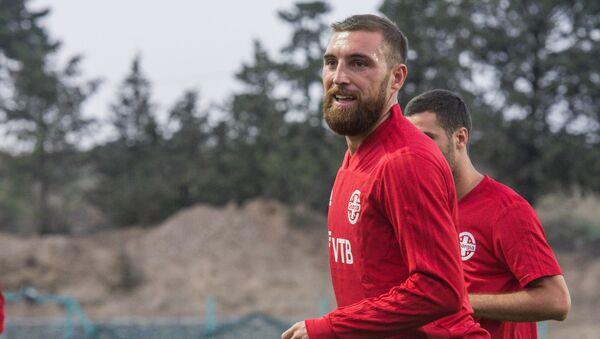 Защитник сборной Грузии по футболу Гурам Кашия - Sputnik Грузия