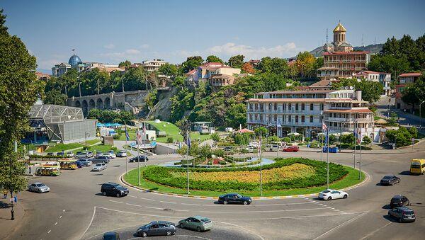 Площадь Европы в Тбилиси - Sputnik Грузия