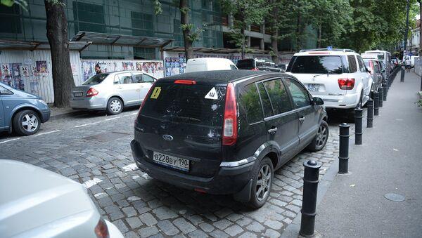 ავტომობილების პარკირება თბილისში - Sputnik საქართველო
