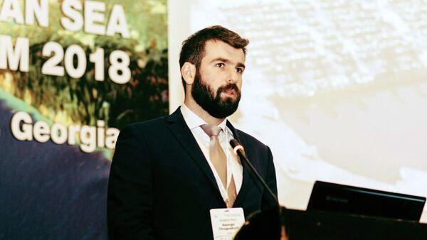 Финансовый директор компании Anaklia City Георгий Чугошвили - Sputnik Грузия