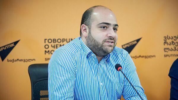 Член совета директоров девелоперской компании Hochbau Джамал Хермасси - Sputnik Грузия
