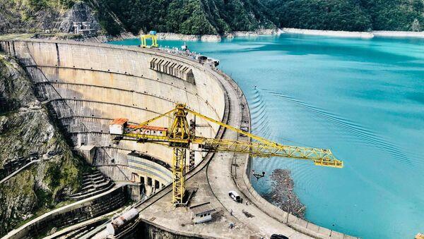 Плотина Ингури ГЭС - Sputnik Грузия