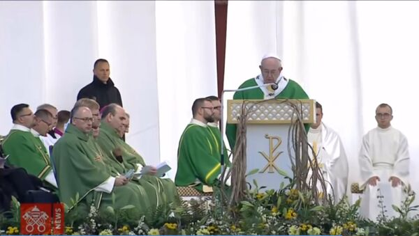 Папа Римский Франциск в странах Балтии - Sputnik Грузия