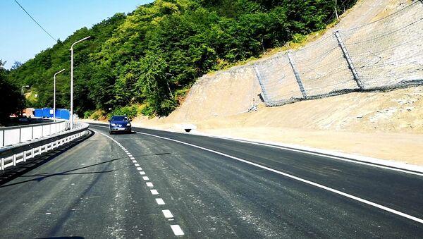 Дорога Цхнети-Бетания: как выглядит восстановленная трасса - Sputnik Грузия