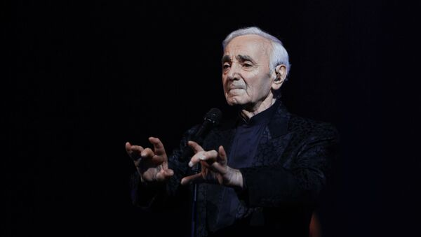 Концерт Шарля Азнавура в Ереване - Sputnik Грузия