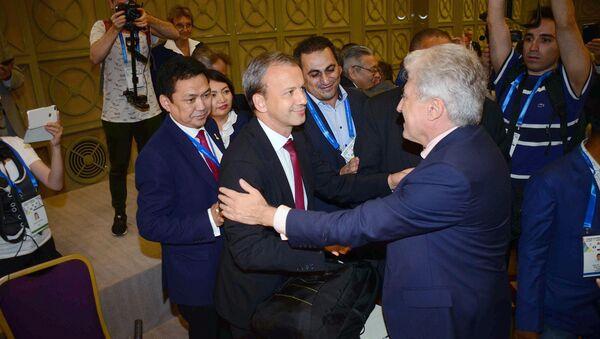 Аркадий Дворкович избран президентом ФИДЕ на конгрессе Международной шахматной федерации - Sputnik Грузия