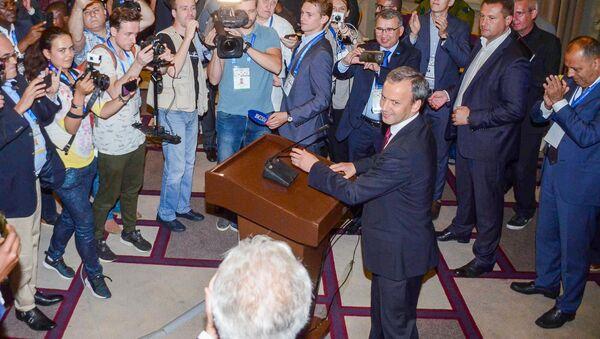 Как Аркадия Дворковича избрали президентом ФИДЕ - Sputnik Грузия