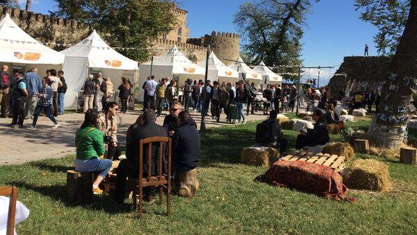Винный фестиваль Телавино в Телави - Sputnik Грузия