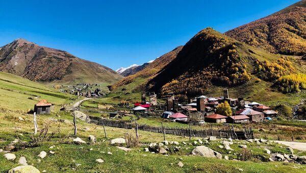 Село Ушгули. Высокогорная Сванетия - Sputnik Грузия