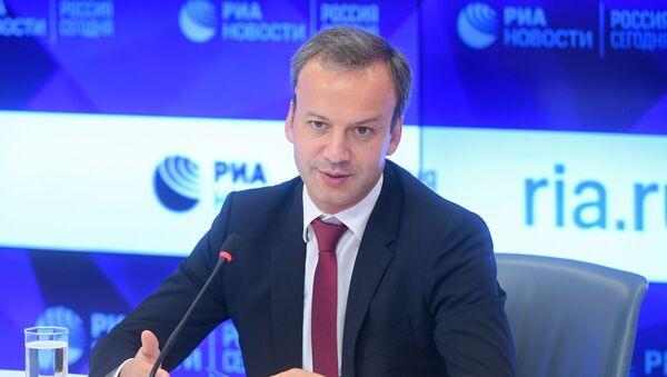 П/к главы Международной шахматной федерации А. Дворковича - Sputnik Грузия