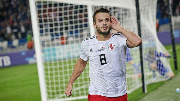 Игрок сборной Грузии Вако Казаишвили - Sputnik Грузия